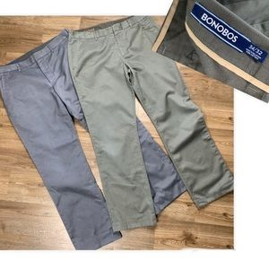 BONOBOS Weekday Warrior Straight Fit Pants 34x32